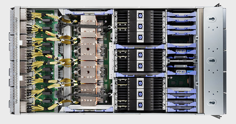 Power E1080の本体内部